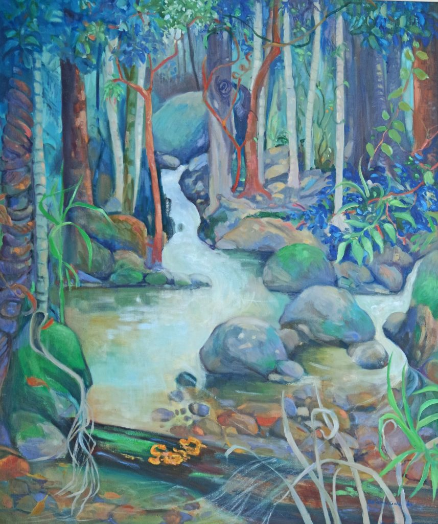 Rainforest Pool by Adrienne Gale